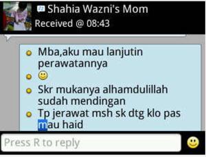 testimoni shahia mom